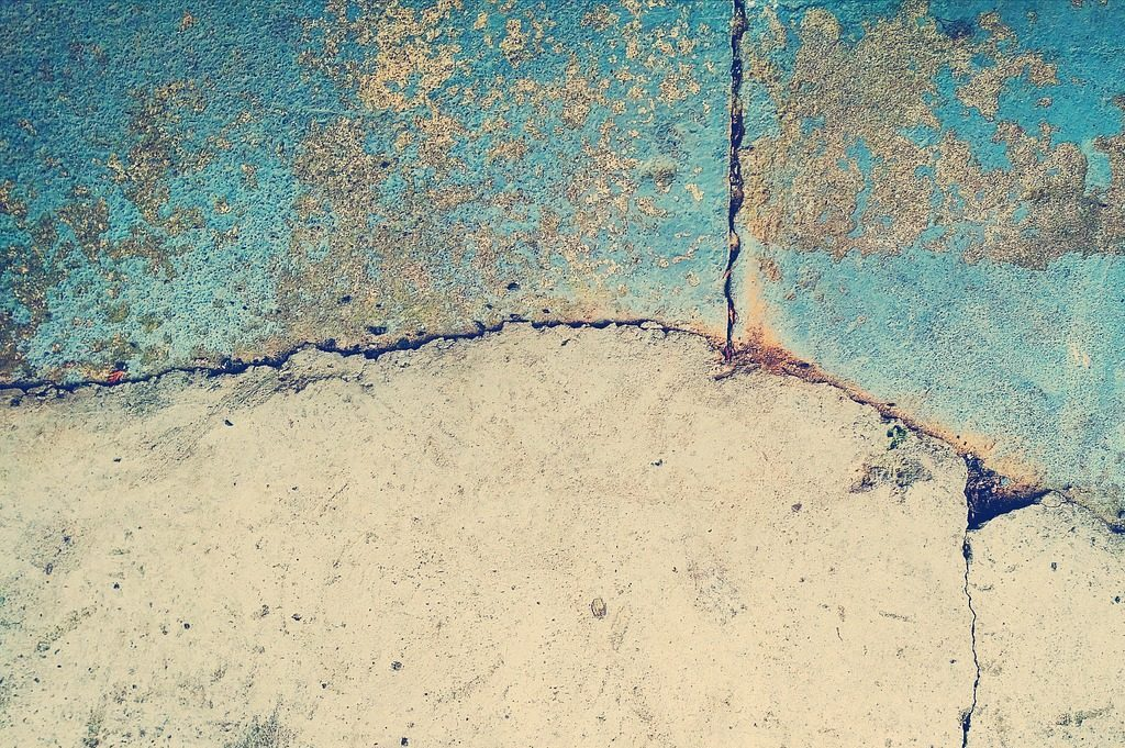 Picture of a wall to illustrate mould